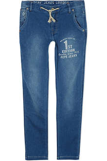 PEPE JEANS LONDON Hamlet denim jogging bottoms 10-16 years