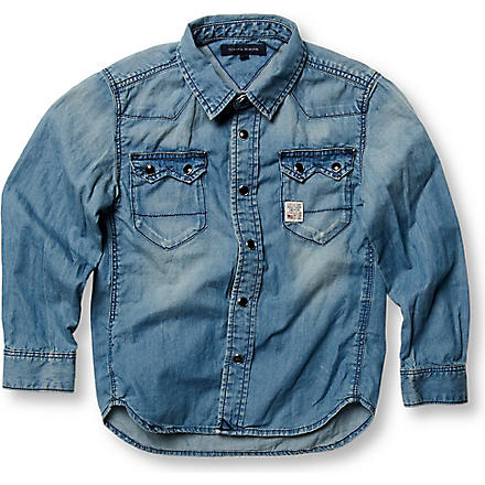 TOMMY HILFIGER Denim shirt 4-7 years (Blue