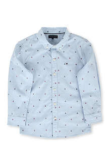TOMMY HILFIGER Boat-print shirt 4-7 years