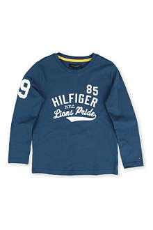 TOMMY HILFIGER Long sleeve logo t-shirt 4-7 years