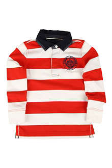 TOMMY HILFIGER Striped rugby shirt 4-7 years