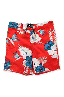 TOMMY HILFIGER Hawaiian swimming shorts 4-7 years