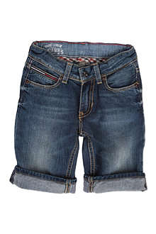 TOMMY HILFIGER Turn-up denim shorts 4-7 years