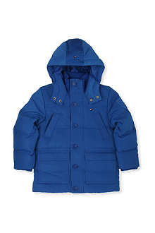TOMMY HILFIGER Th down hooded jacket 4-7 years