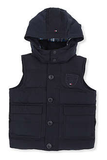 TOMMY HILFIGER Hooded down gilet 4-7 years