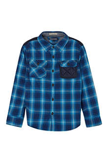 TOMMY HILFIGER Herringbone checked shirt 8-16 years