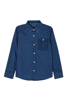 TOMMY HILFIGER Textured chambray shirt 8-16 years