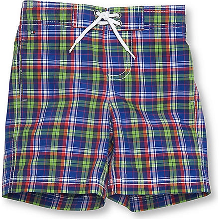TOMMY HILFIGER Checked swimming shorts 4 – 16 years (Multi