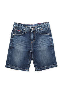 TOMMY HILFIGER Turn-up denim shorts 8-16 years