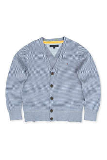 TOMMY HILFIGER Striped cardigan 8-16 years