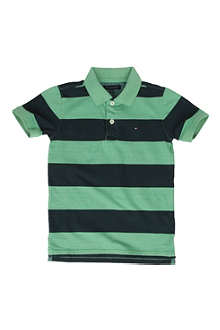 TOMMY HILFIGER Striped polo shirt 8-16 years