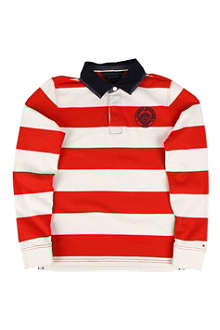 TOMMY HILFIGER Striped rugby shirt 8-16 years