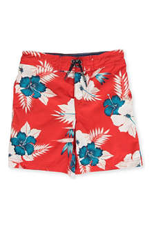 TOMMY HILFIGER Hawaiian swimming shorts 8-16 years