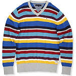 TOMMY HILFIGER Striped v-neck jumper 8-16 years
