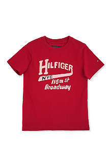 TOMMY HILFIGER Logo print t-shirt 3-16 years