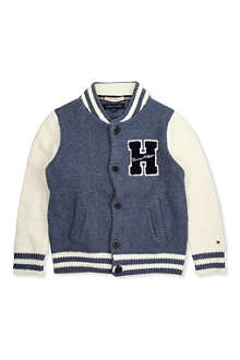 TOMMY HILFIGER Varsity button-up cardigan 8-16 years
