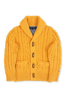TOMMY HILFIGER Cable knit cardigan 3-16 years