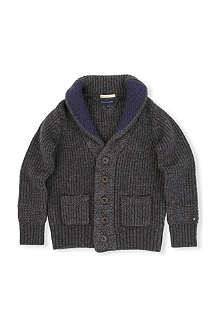 TOMMY HILFIGER Shawl collar cardigan 3-16 years