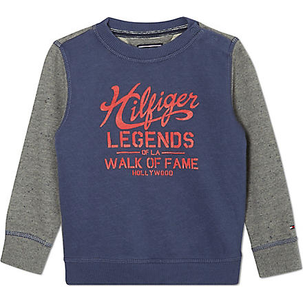TOMMY HILFIGER Hilfiger Legends sweatshirt 2-16 years (Blue