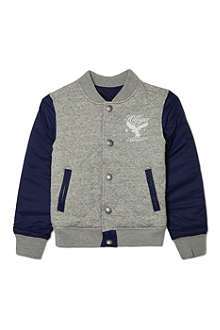 TOMMY HILFIGER Quilted varsity bomber jacket 2-16 years