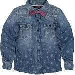 TOMMY HILFIGER Star denim shirt 4-16 years