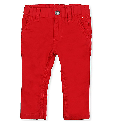TOMMY HILFIGER Freddy chinos 6months - 8years (Red