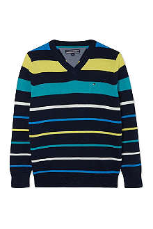 TOMMY HILFIGER Louis stripe sweatshirt 2-16 years