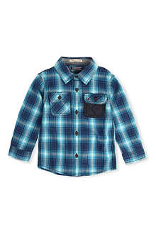 TOMMY HILFIGER Herringbone checked shirt 2-7 years