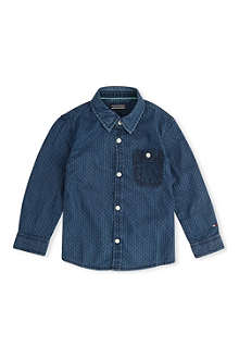 TOMMY HILFIGER Textured chambray shirt 2-7 years
