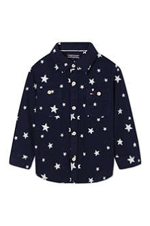 TOMMY HILFIGER Star jacquard shirt 4-10 years