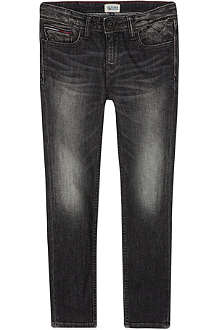 TOMMY HILFIGER Scanton denim wash trousers 3-16 years