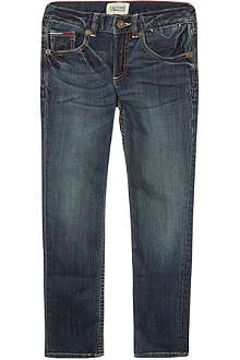 TOMMY HILFIGER Clyde mid-wash jeans 3-16 years