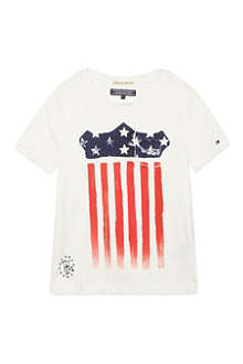 TOMMY HILFIGER Blue star t-shirt 4-16 years