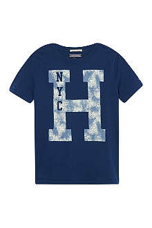 TOMMY HILFIGER Logo print t-shirt 4-16 years
