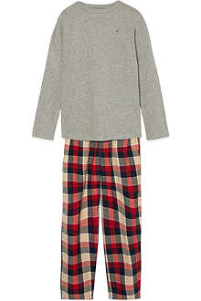 TOMMY HILFIGER Check pyjama set 4-16 years