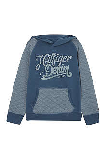 TOMMY HILFIGER Quilted hoodie 4-16 years
