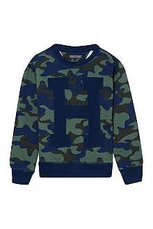 TOMMY HILFIGER Camouflage sweatshirt 4-16 years