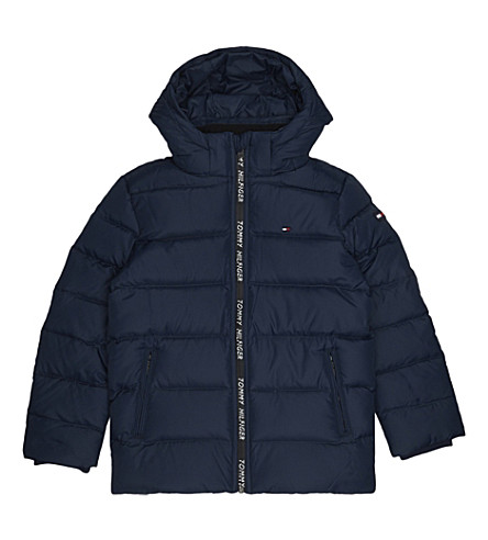 TOMMY HILFIGER Puffa coat 4-16 years (Navy