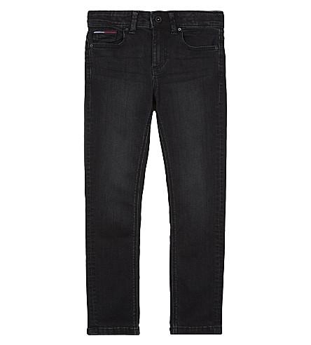 TOMMY HILFIGER Scanton slim-fit jeans 4-16 years (Black