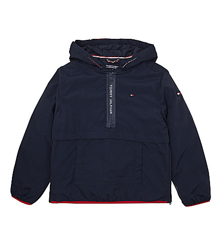 TOMMY HILFIGER Hooded coat 4-16 years (Black