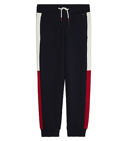 TOMMY HILFIGER Tom b block leg logo trackpant (Navy
