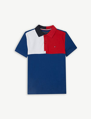 1e3ad1429d1b1 TOMMY HILFIGER - American Dreamer cotton polo 4-16 years ...