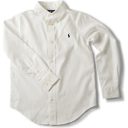 RALPH LAUREN Custom fit shirt 5-7 years (White