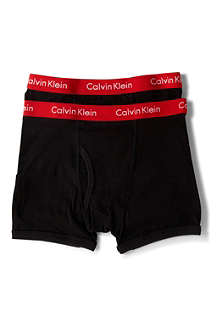 CALVIN KLEIN Pro–stretch boxer briefs (2 pack) 4-14 years