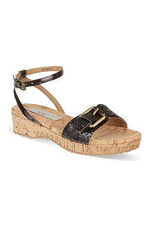 STELLA MCCARTNEY Disney Maleficent glitter sandals 4-12 years