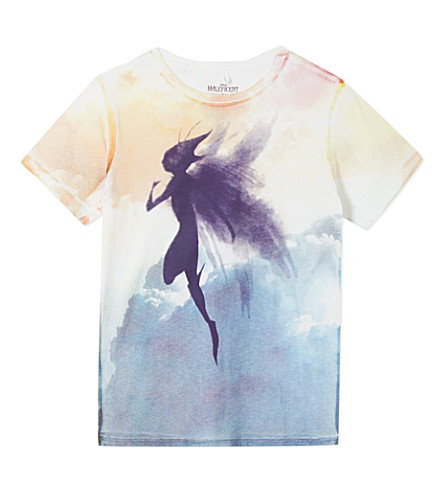 STELLA MCCARTNEY Disney Maleficent Goldie t-shirt 4-12 years (White
