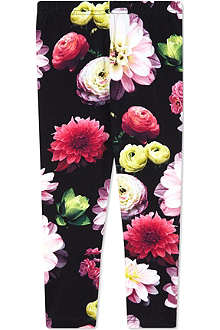 MOLO Niki black flower leggings 2-14 years