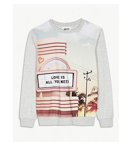 MOLO Regine cotton-blend jumper 4-14 years (Pink