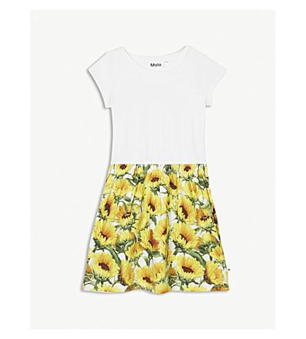 MOLO Carla sunflower print dress 3-14 years (Yellow