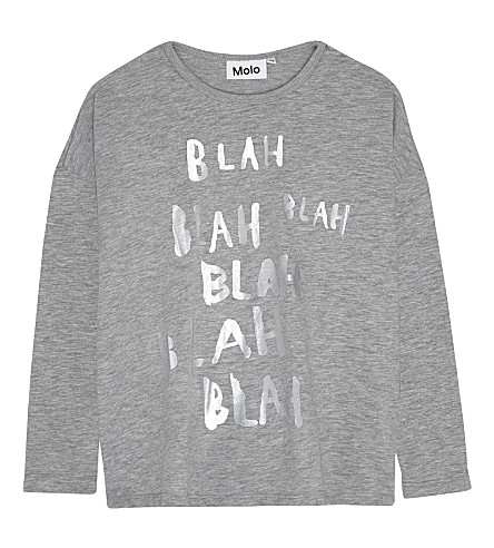 MOLO Rissa blah blah long-sleeved top 4-14 years (1046
